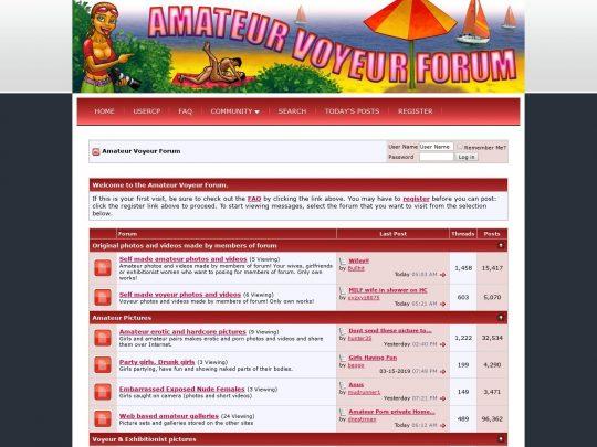 AmateurVoyeurForum